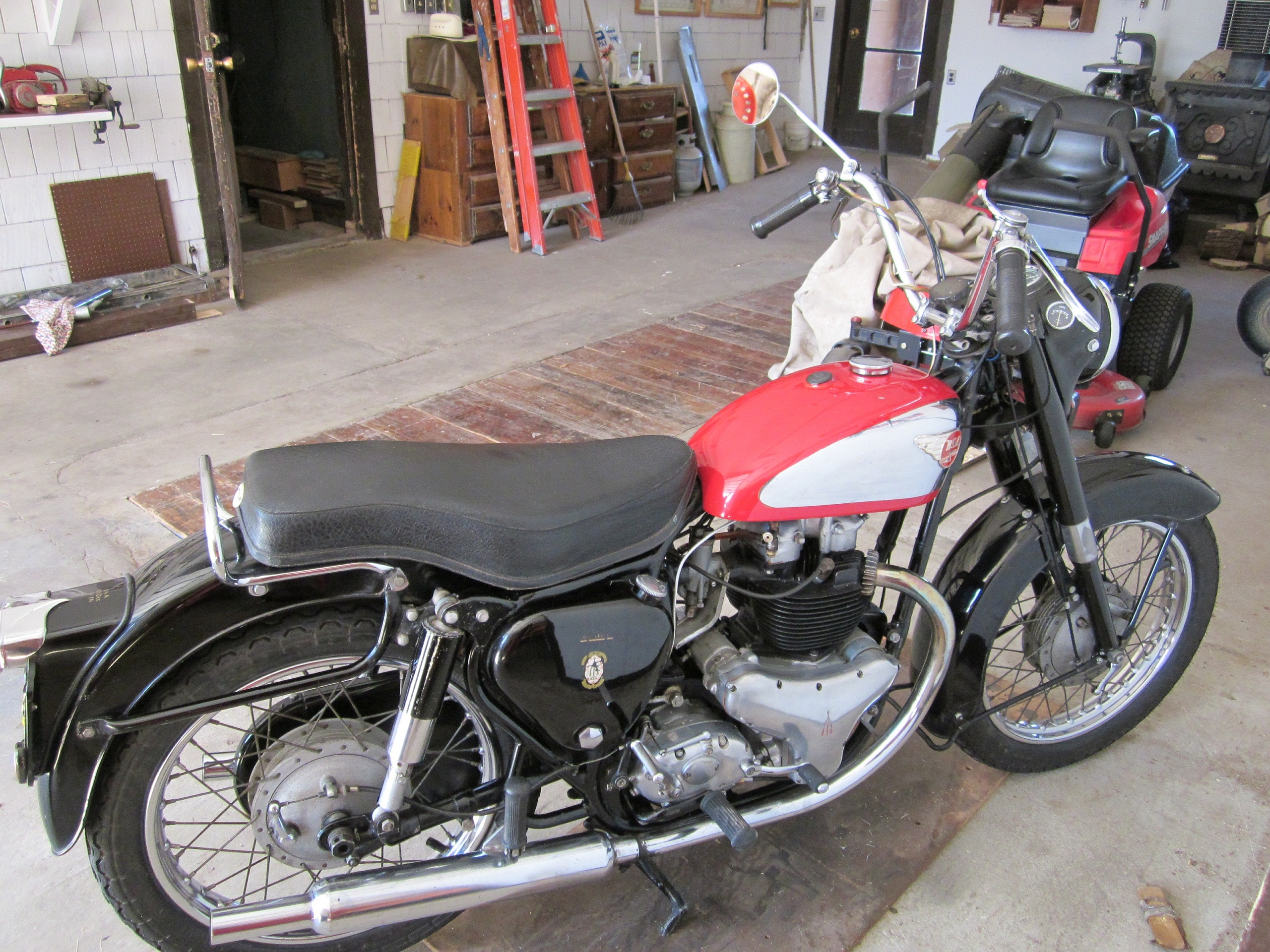 1957 BSA All Original One Owner – Holy Shit!