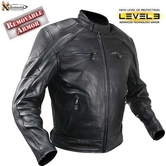 Product Review – Xelement Men's Advanced Armor Naked Leather Jacket p1