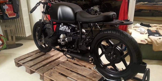 BMW r80 Cafe Racer by Oscar Tasso – The Dark Lady