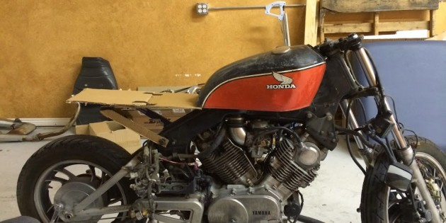 Cole Matson's Yamaha XV920 Cafe Project