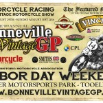 9th Annual Vintage GP August 29th – 31st