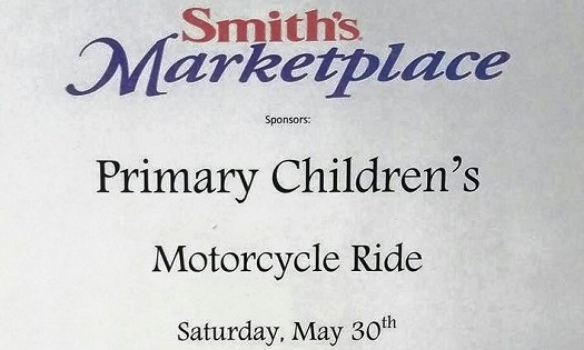 Benefit Ride for Primary Children's Hospital May 30th