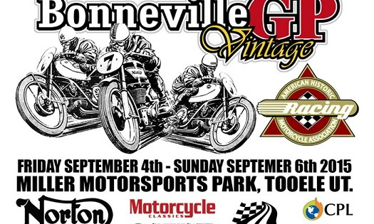 Bonneville Vintage GP Sept 4-6