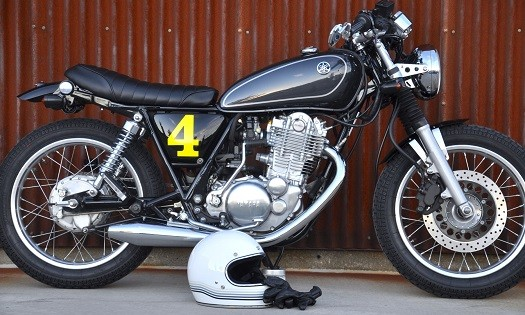 Jorge's SR400 Cafe Conversion
